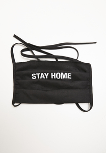 Mister Tee MT1374 - Stay Home Face Mask 2-Pack
