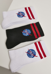 Mister Tee MT2020 - NASA Insignia Socks 3-Pack