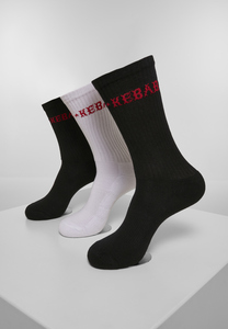 Mister Tee MT2050 - Kebab Socks 3-Pack