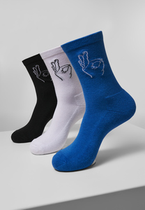 Mister Tee MT2072 - Salty Socks 3-Pack