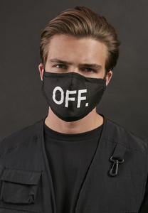 Mister Tee MT2095 - Face Mask OFF 2-Pack