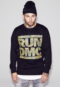 Mister Tee MT417 - RUN DMC Camo Crewneck