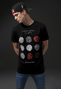 Merchcode MT426 - T-shirt Twenty One Pilots schéma cercles
