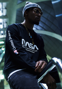 Mister Tee MT659 - NASA US Crewneck