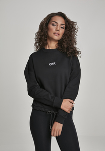 Mister Tee MT723 - Ladies OFF Oversize Crewneck