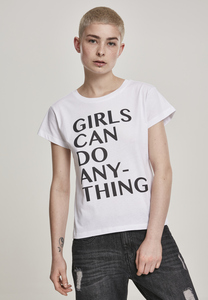 Mister Tee MT963 - Ladies Girls Can Do Anything Tee