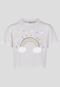 Mister Tee MTK028 - Kids Save The World Cropped Tee