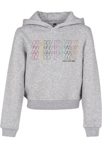 Mister Tee MTK032 - Kids New York Cropped Hoody