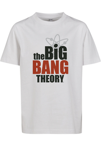 Mister Tee MTK060 - Kinderen Big Bang Theory Logo T-shirt
