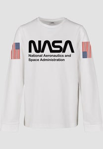 Mister Tee MTK071 - Pullover pour enfants NASA Worm