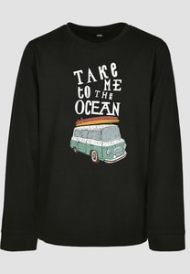 "Mister Tee MTK073 - Sweatshirt Criança ""Take Me To The Ocean Longsleeve"""
