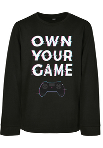 Mister Tee MTK101 - Kids Own Your Game Longsleeve
