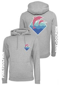 Pink Dolphin PD032 - Pink Dolphin Logo Hoody