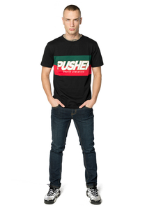 Pusher Apparel PU032 - T-shirt Pusher Hustle