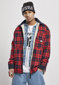Southpole SP037 - Giacca Southpole Check Flannel Sherpa