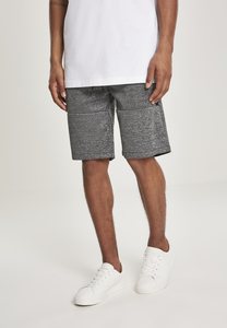 Southpole SP1553 - Zipper Pocket Marled Tech Fleece ShortsL