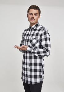 Urban Classics TB1000 - Long Checked Flanell Shirt