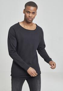 Urban Classics TB1012 - Long Open Edge Terry Crewneck