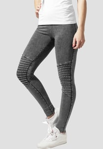 Urban Classics TB1056 - Leggings pour dames denim jersey
