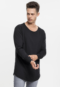 Urban Classics TB1101 - Long Shaped Fashion L/S T-shirt