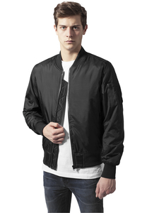 Urban Classics TB1165 - Tech Zip Bomber Jacket