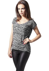 Urban Classics TB1183 - Ladies Burnout Tee