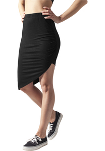 Urban Classics TB1193 - Ladies Asymetric Viscose Skirt