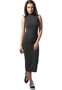 Urban Classics TB1195 - Ladies Stretch Jersey Turtleneck Dress