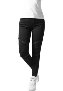 Urban Classics TB1215 - Ladies Stretch Biker Pants