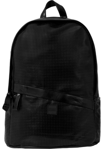Urban Classics TB1287 - Perforated Leather Imitation Backpack