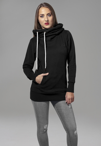 Urban Classics TB1328 - Ladies Long Logopatch Hoody