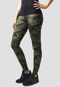 Urban Classics TB1331 - Ladies Camo Leggings