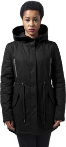 Urban Classics TB1370 - Ladies Sherpa Lined Cotton Parka