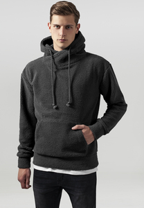 Urban Classics TB1401 - Sherpa High Neck Hoody
