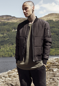 Urban Classics TB1444 - Giacca Basic Quilt Bomber