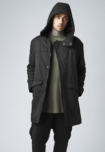 Urban Classics TB1461 - Cotton Peached Canvas Parka