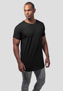 Urban Classics TB1561 - T-shirt long coupe ajustée Turnup
