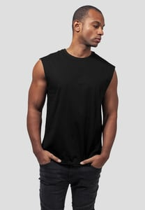 Urban Classics TB1562 - Open Edge Sleeveless T-shirt