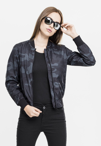Urban Classics TB1627 - Ladies Light Bomber Jacket Camo