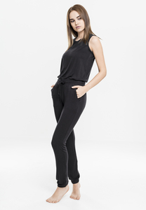 Urban Classics TB1630 - Ladies Tech Mesh Long Jumpsuit