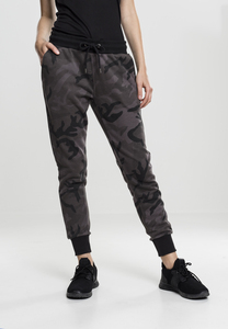 Urban Classics TB1638 - Ladies Camo Terry Pants