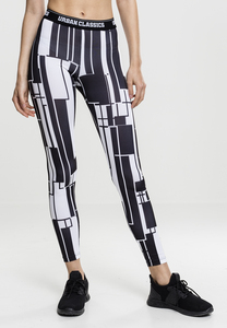 Urban Classics TB1664 - Ladies Graphic Sports Leggings