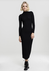 Urban Classics TB1710 - Ladies Long Turtleneck Dress