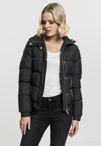 Urban Classics TB1756 - Ladies Hooded Puffer Jacket