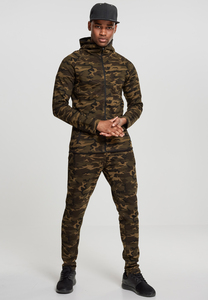 Urban Classics TB1783 - Interlock Camo Zip Jacket