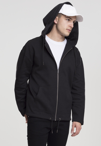 Urban Classics TB1787 - Felpa con cappuccio Long Sweat Zip
