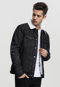 Urban Classics TB1796 - Sherpa Denim Jacket