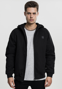 Urban Classics TB1805 - Hooded Cotton Zip Jacket