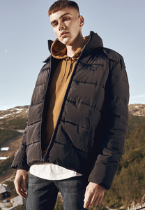 Urban Classics TB1807 - Hooded Puffer Jacket