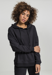 Urban Classics TB1839 - Ladies Laced-Up Hoody